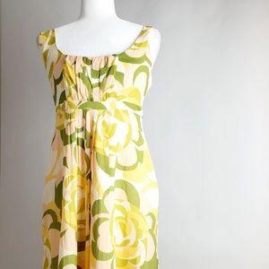 Anthropologie Odille Cotton Summer Dress Size 8